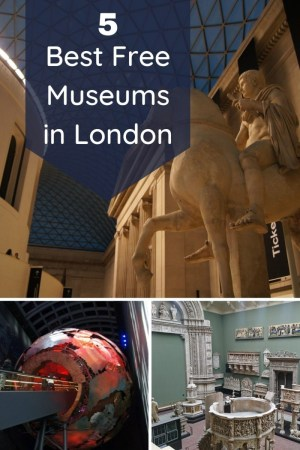 5 Free Museums in London