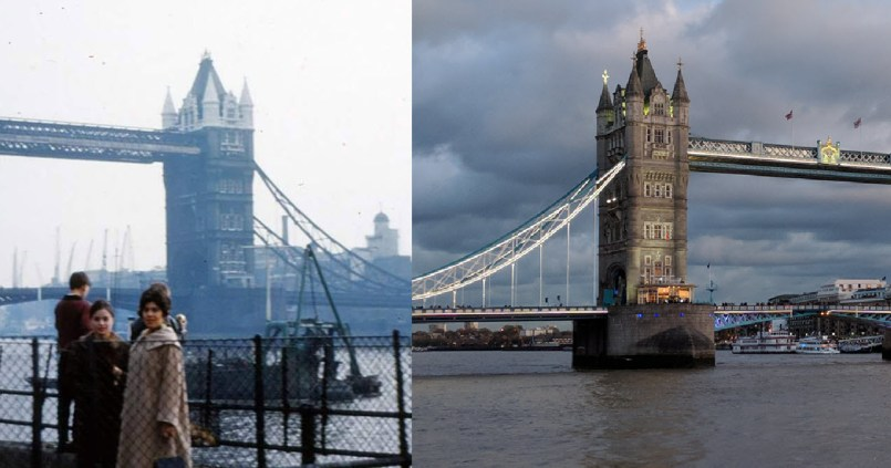 Then & Now: Tower Bridge
