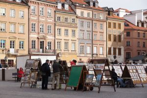 Old Town Market Square in Warsaw