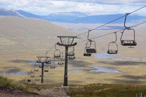 Ski Lift at Glencoe Mountain Resort