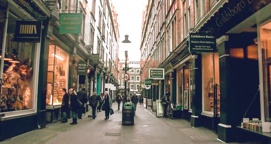 Cecil Court, courtesy of ThePoorLondoner