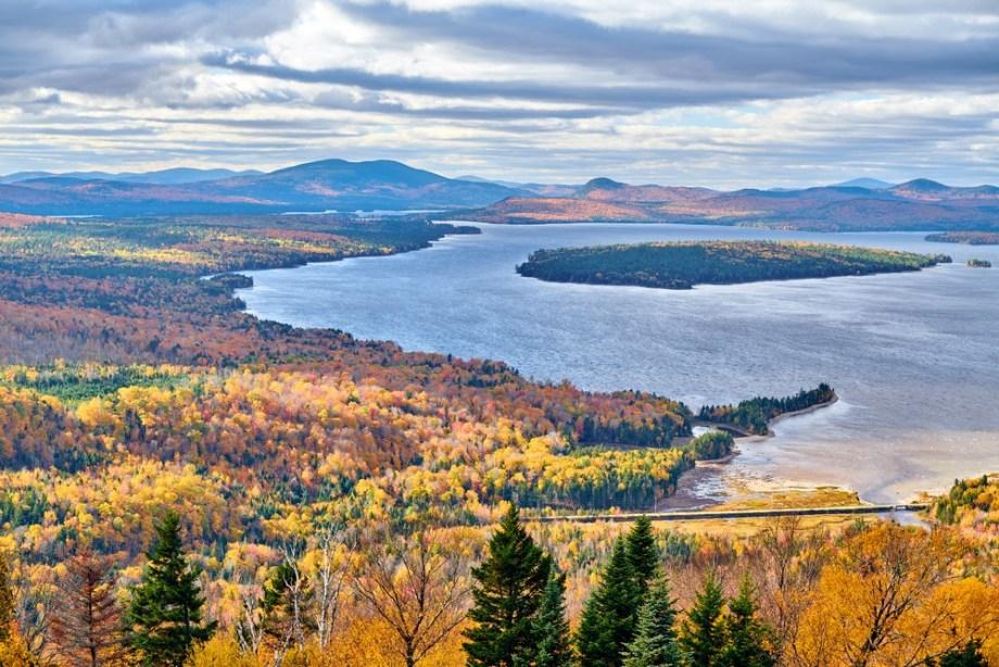 Moosehead Lake, Kennebec Valley