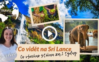 Video: Na jak dlouho na Srí Lanku – co vidět na Srí Lance za 2 týdny?