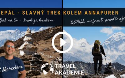 Video: Nepál – Trek kolem Annapuren den po dni