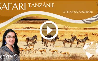 Video: Safari Tanzánie a relax na Zanzibaru