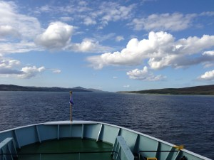 On the ferry from Kennacraig to Port Askaig