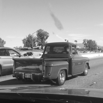Highway, not a classic car show...