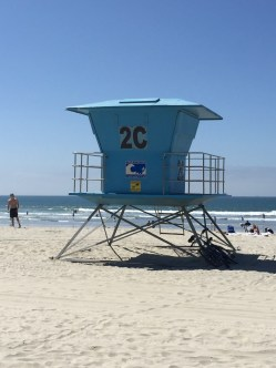 Life guard tower in Coronado