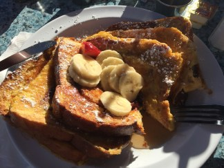French Toast @The Olive Café