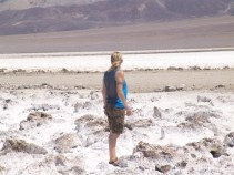 Definitely not snow - Devil's Golf Course in Death Valley