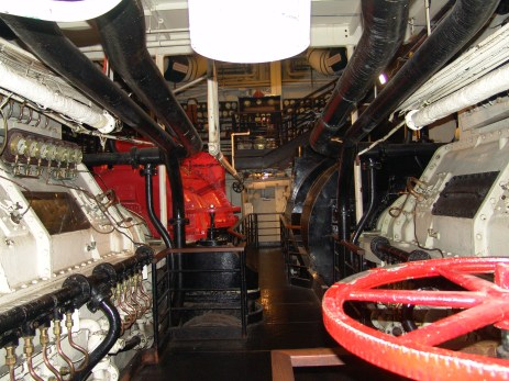 Which other hotel has a haunted engine room you can tour?