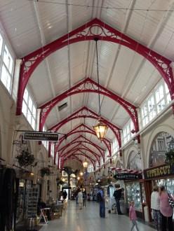 Indoor market in Inverness, Scotland