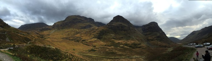 Glencoe, Scotland is beautiful even in awful weather!