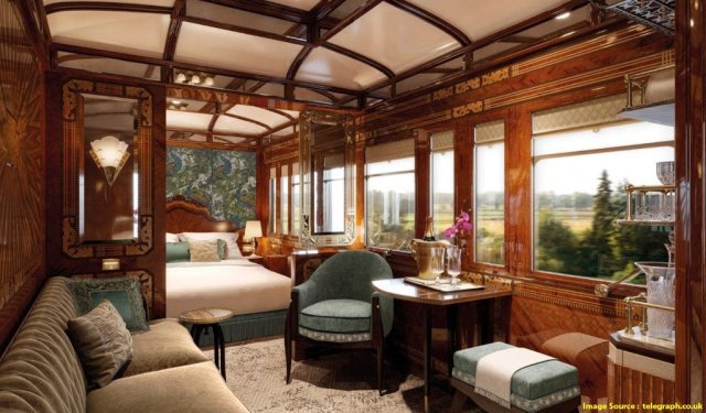 Luxury Trains In India : Royal Orient Train