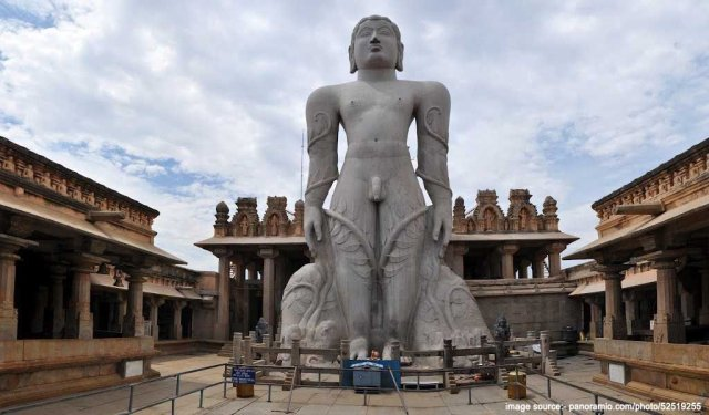 Famous Pilgrimage Places in South India : Bahubali Temple