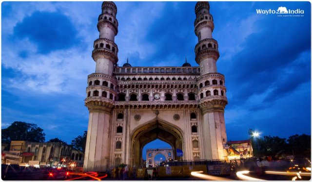 Historical Places in South India : Charminar, Hyderabad