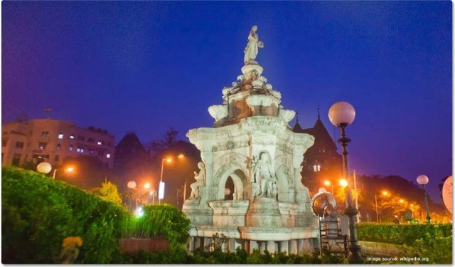 Flora Fountain : Places to visit in Mumbai in One Day