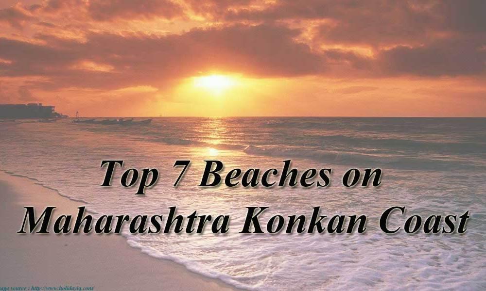 Beaches on Maharashtra Konkan Coast