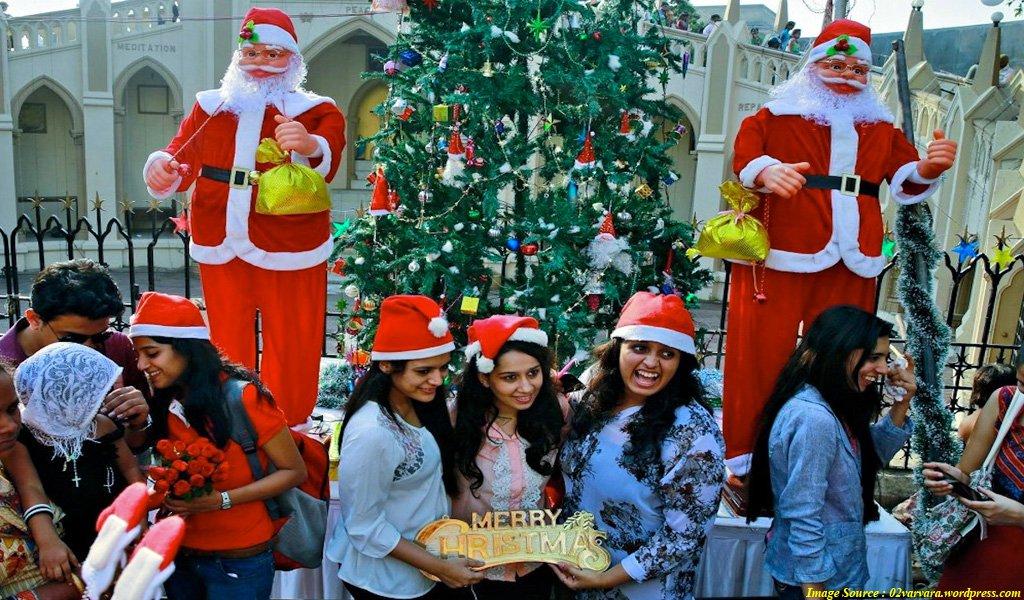 Best Places To Celebrate Christmas In India Waytoindiacom