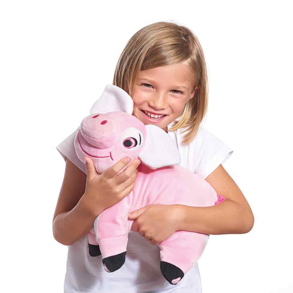 pinky the pig kids travel pillow