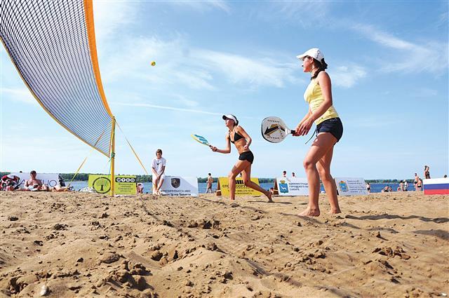 Пляжный теннис Старт