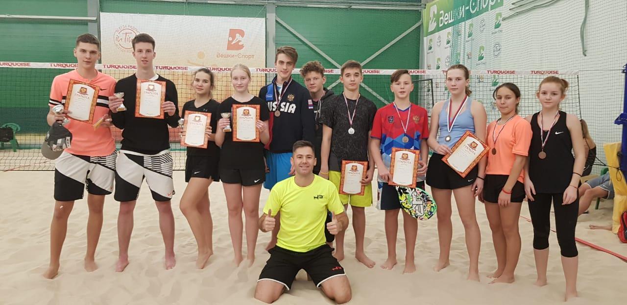 Серия турниров по пляжному теннису в Москве подошла к концу