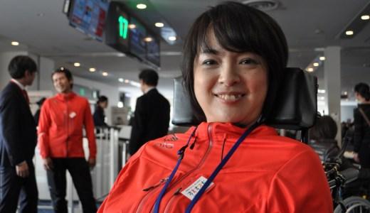 バリアフリー旅行「車いすで、雪遊び」ツアー 羽田空港で見学会実施