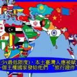 主權國家核發的旅行證件護照