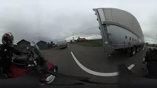 仮想北海道バイク旅「8日目B 音威子府-旭川④」360度VR映像