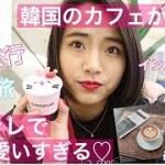 【韓国旅行】【一人旅】韓国のカフェが可愛すぎた♡【韓国カフェ】【Vlog】【韓国カフェ巡り】