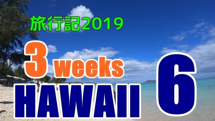 ハワイ旅行記2019#6:10ドル以下のコスパディナーとお昼は自炊で節約した一日