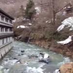 群馬県みなかみ町 宝川温泉「宝川山荘」4つの露天風呂全景