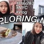 【一人旅】ニューヨークを散策♪ おすすめカフェも★EXPLORING NYC!! Brooklyn Bridge etc. /// NYC TRIP Vlog #2