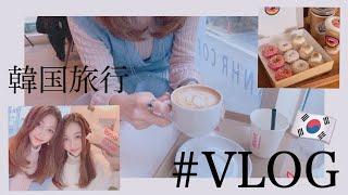 【韓国旅行】VLOG ☕️ ソウルカフェ / 撮影 / 韓国生活 / グルメ / 江南