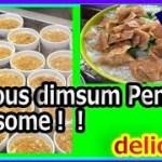 ペナン島で地元有名飲茶 グルメ‼美味!バリファイBali Hai Dim Sum旅行・美味しい中華・マレーシア HD