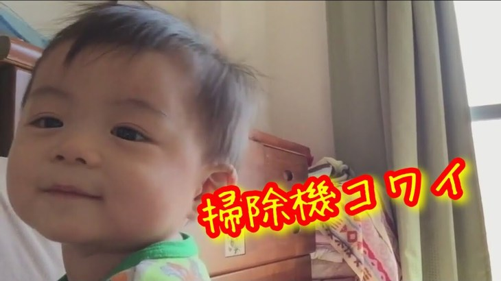 【ひとり旅】【感動】掃除機を見た後の赤ちゃんの反応が可愛すぎた・・岡山の姉ちゃん家
