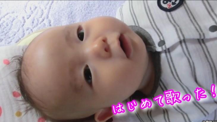 【ひとり旅】【感動】秋田の従姉妹の赤ちゃん。初めて歌った曲がこれ?可愛い過ぎるw