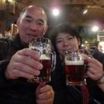 車中泊で北海道旅行♪ 小樽地ビールで美味しく乾杯♪