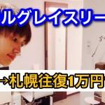 東京北海道往復1万円旅!ホテルグレイスリー札幌に泊まってみた!LCCバニラエア航空
