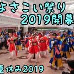 【4K】高知よさこい祭り  2019開幕