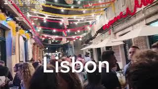 【リスボン飲屋街】#ポルトガル #リスボン #海外旅行 #ファド #lisbon #portugal #drink #music