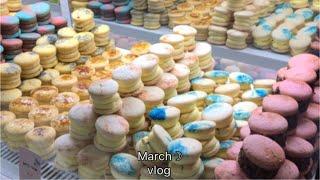《 vlog 》 韓国旅行 釜山 #1〜 チキン・マカロン・雑貨屋さん・ショッピング 〜
