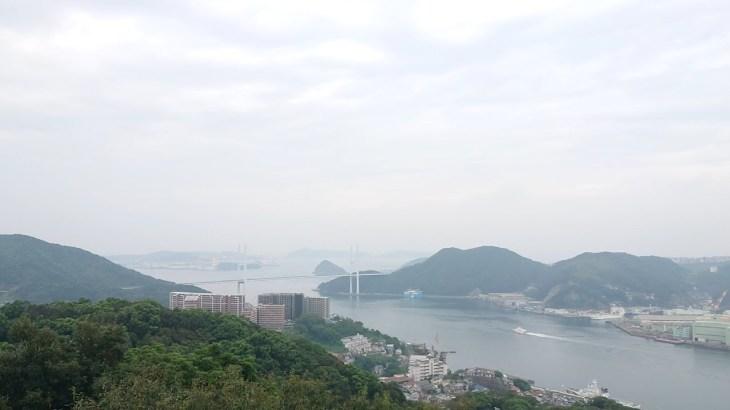 長崎一人旅記 旧三菱第2ドッグハウスから長崎湾が見える鍋冠山公園へ Mt nabekanmurisan park