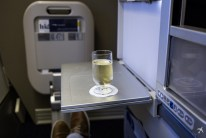 British Airways Club World Champagne