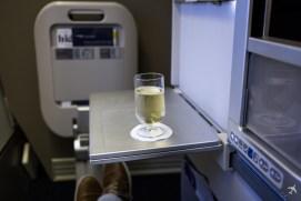 British Airways Club World Champagne