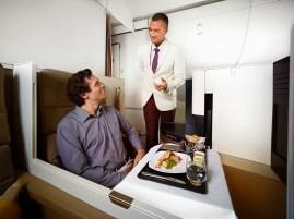 Etihad Airways Buiness Studio F&B