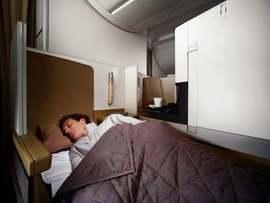 Etihad Airways Business Studio Sleep