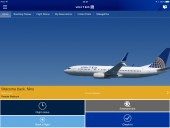 United Airlines Domestic First Class WiFi