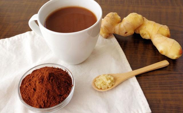 生姜ココア 飲むタイミング 粉末 生姜 量