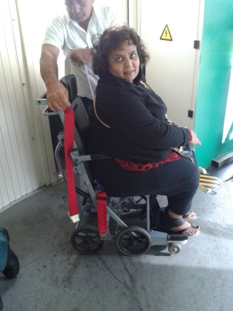 Tab travels in a wheelchair and is here to share her adventures in travel with you!